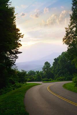 Photograph - Smoky Mountains Scene by Melinda Fawver