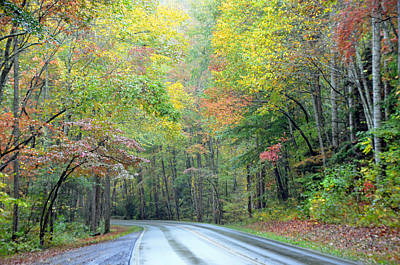 Photograph - Smoky Mountains Scenic Drive by Mary Anne Baker