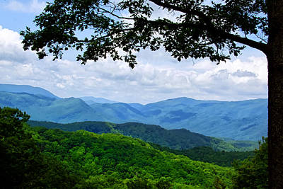 Photograph - Smoky Mountains View by Carolyn Derstine