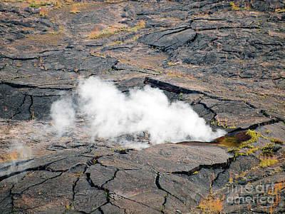 Photograph - Smoldering Kilauea by Patricia Griffin Brett