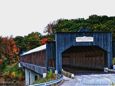 Photograph - Smolen Gulf Covered Bridge by Gena Weiser