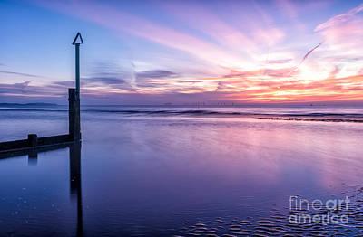 Sun Rays Digital Art - Smooth Sands by Adrian Evans