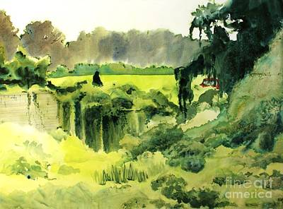 Kudzu Painting - Smothered by Elizabeth Carr