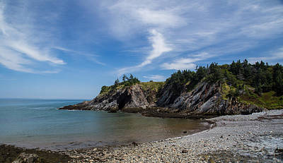 Photograph - Smuggles Cove by Darren Langlois