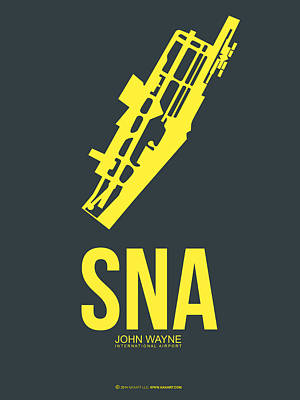 Sna Orange County Airport Poster 3 Art Print
