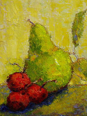 Painting - Snack Time by Marie Hamby