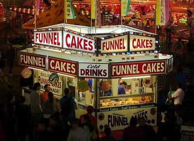 Photograph - Snacks At The County Fair by Pete Trenholm