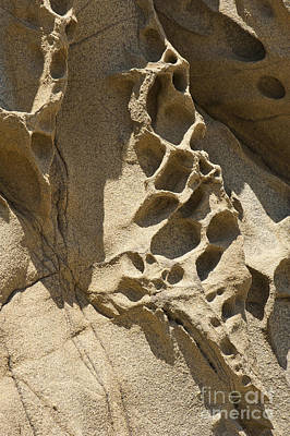 Beach Photograph - Snadstone Rock Formations In Big Sur by Artist and Photographer Laura Wrede