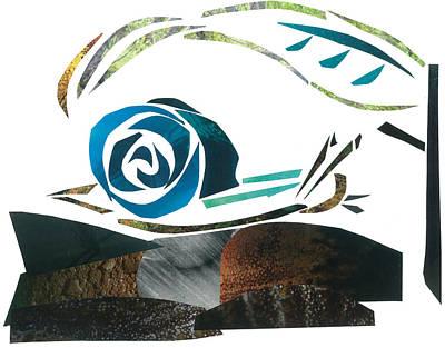 Invertebrates Mixed Media - Snail by Earl ContehMorgan