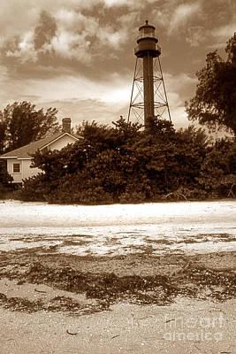 Basketball Patents - Sanibel Island Lighthouse by Skip Willits