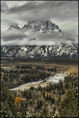 Photograph - Snake River - Tetons by Erika Fawcett