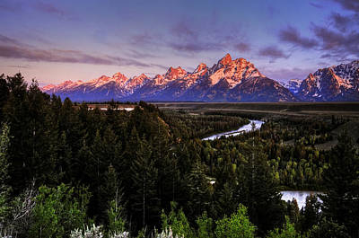 Photograph - Snake River And The Grand Tetons Sunrise by Ken Smith