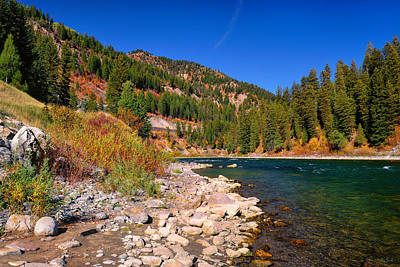 Photograph - Snake River Canyon Autumn by Greg Norrell
