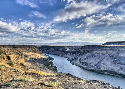 Snake River Canyon Art Print