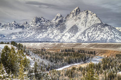 Photograph - Snake River Grand Teton National Park by Pierre Leclerc Photography