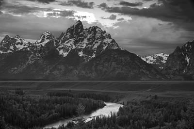 Grand Teton Photograph - Snake River In The Tetons by Andrew Soundarajan