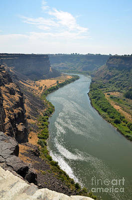 Photograph - Snake River Canyon In Twin Falls Idaho by Debra Thompson
