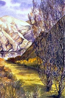 Painting - Snake River Landing by Lynne Wright