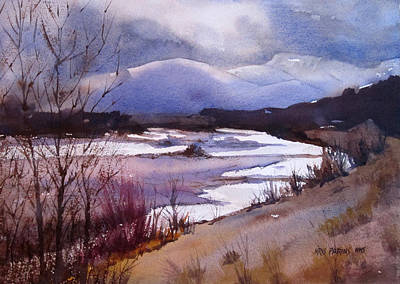 Painting - Snake River Looking South by Kris Parins