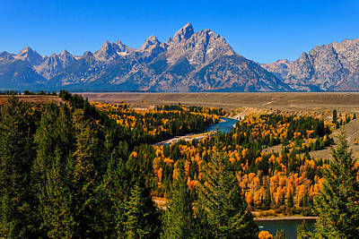 Photograph - Snake River Overlook by Greg Norrell