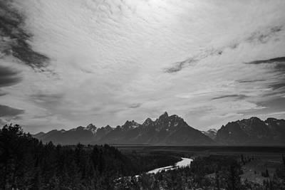 Snake River Overlook In Grand Teton National Park Art Print by Vishwanath Bhat