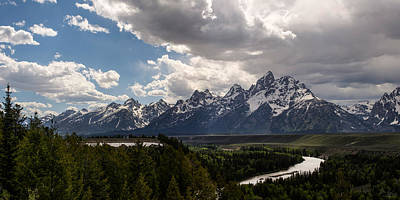 Photograph - Snake River Overlook Panorama by Aaron Spong