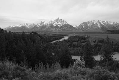 Photograph - Snake River Overlook by Robert  Moss