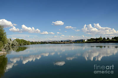 Photograph - Snake River Reflections by Debra Thompson
