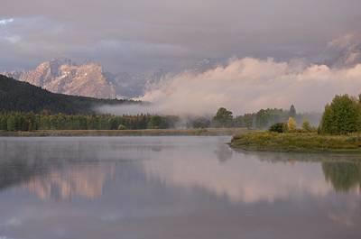 Photograph - Snake River Sunrise by Byron Jorjorian