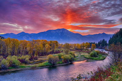 Photograph - Snake River Sunrise by Greg Norrell