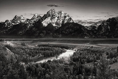 Teton Photograph - Snake River View by Andrew Soundarajan