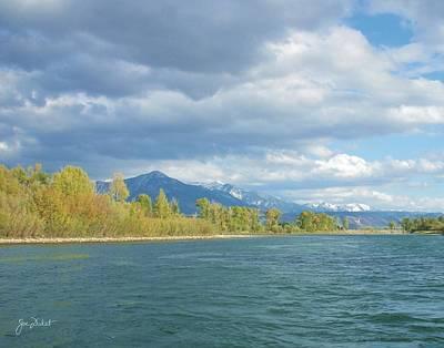 Photograph - Snake River Vista by Joe Duket