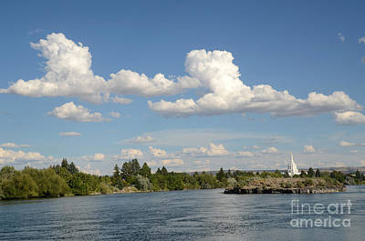 Photograph - Snake River With Clouds by Debra Thompson
