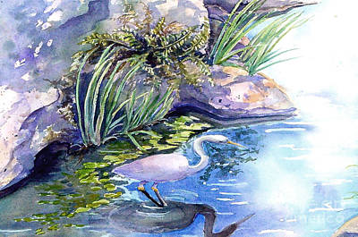 Painting - Snakebird by Carole  DiTerlizzi