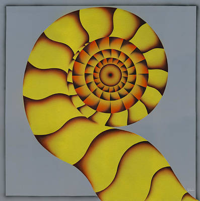 Painting - Snakes Tail. by Kenneth Clarke
