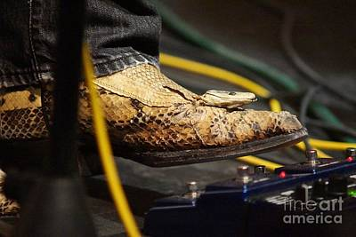 Photograph - Snakeskin Boot by Lynda Dawson-Youngclaus