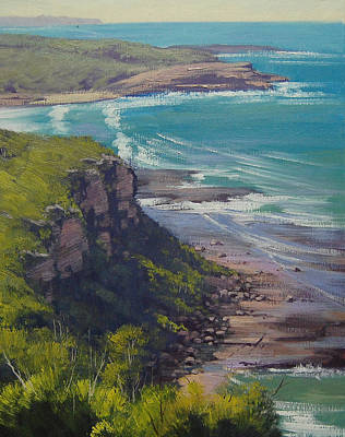 Entrance Wall Art - Painting - Snapper Point Nsw by Graham Gercken