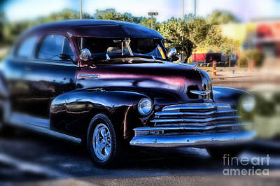 Photograph - Snazzy Chevy by Jim McCain