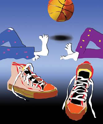 Sneakers Art Print