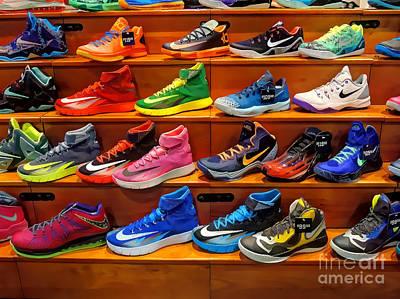 Sneakers Art Print by Jeff Breiman