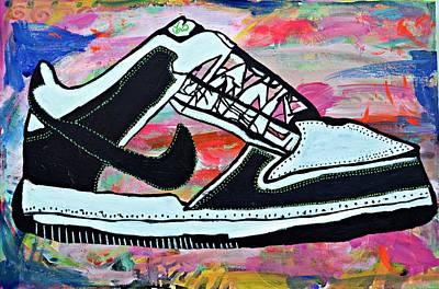 Sneaks Art Print by Nicole Gavin