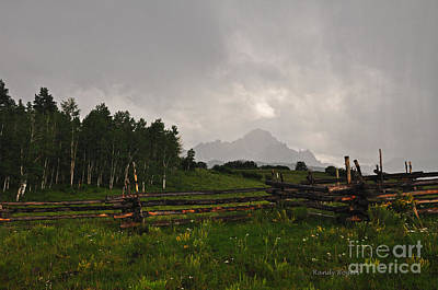 Photograph - Sneffels Storm by Randy Rogers