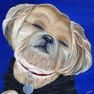 Painting - Snickers by Michelle Joseph-Long