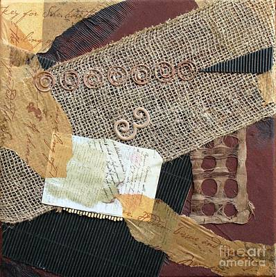 Mixed Media - Snippets Of Time by Phyllis Howard