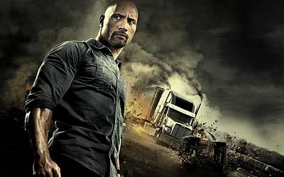 Cabin Wall Digital Art - Snitch Dwayne Johnson  by Movie Poster Prints