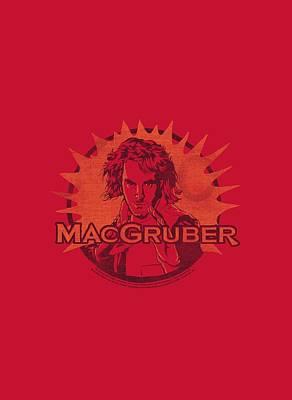 Show Digital Art - Snl - Macgruber by Brand A