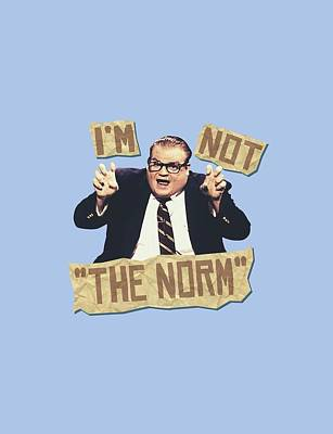Show Digital Art - Snl - The Norm by Brand A