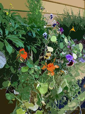 Snohomish Flowerbox  Art Print