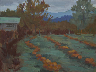 Painting - Snohomish Pumpkin Patch by Diane McClary