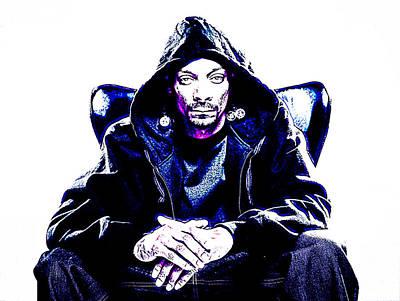 Snoop Dogg Photograph - Snoop Dogg by VRL Art